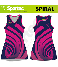Sublimation Netball Dress (Spiral)