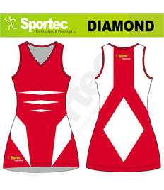 Sublimation Netball Dress (Diamond)