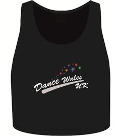 DANCE WALES UK - KIDS DANCE CROP TOP