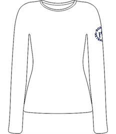 Boston Netball Club Long Sleeve Training Top