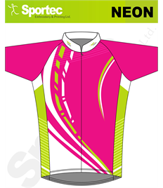 Sublimation Cycling Jersey (Neon)