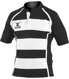 10 x Gilbert Xact II Hoop Rugby Jerseys (Juniors)