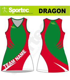 Sublimation Netball Dress (Dragon)