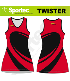 Sublimation Netball Dress (Twister)