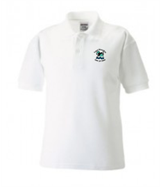 Ysgol Rhos Afan Polo Shirt (Adult Sizes)