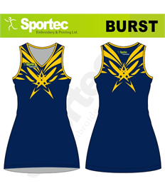 Sublimation Netball Dress (Burst)