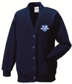 Sandfields Primary School Cardigan (Adult Sizes)