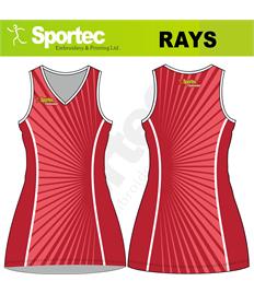 Sublimation Netball Dress (Rays)