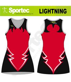 Sublimation Netball Dress (Lightning)