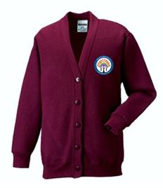 Gnoll Primary School Cardigan (Adult Sizes)