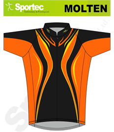 Sublimation Cycling Jersey (Molten)