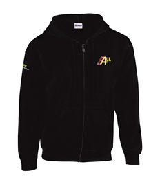 RUN4ALL - Zipped Hoodie
