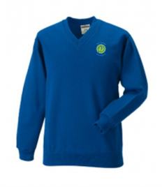 Ysgol Ystalyfera V-Neck Jumper (Sizes XS Adult - XL Adult)