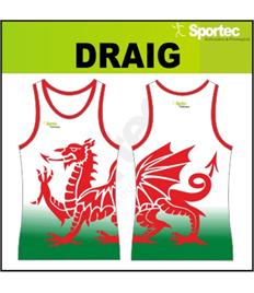 Sublimation Athletic Vest - DRAIG
