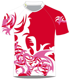 Sublimation Rugby Jersey (Swirl)