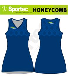 Netball Sublimation Dress (Honeycomb)