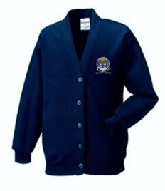 Blaenbaglan Primary School Cardigan (Adult Sizes)