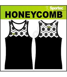 Sublimation Athletic Vest - HONEYCOMB