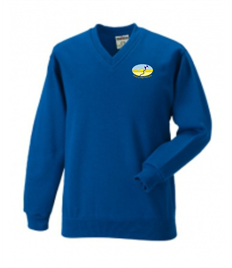 Awel-y-Môr Primary School V-Neck Sweatshirt