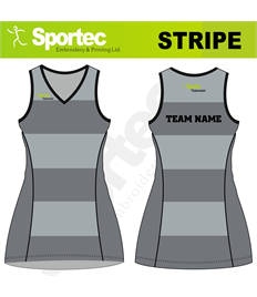 Sublimation Netball Dress (Stripe)
