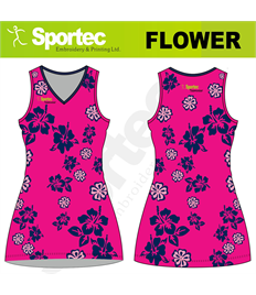 Sublimation Netball Dress (Flowers)