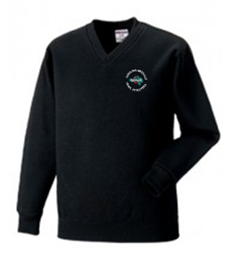 Ystalyfera 6th Form V-Neck Sweatshirt