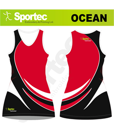 Sublimation Netball Dress (Ocean)