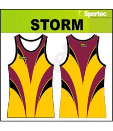 Sublimation Athletic Vest - STORM