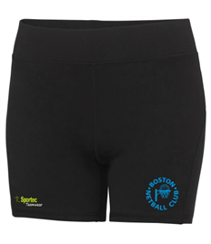 Boston Netball Club - Training Shorts