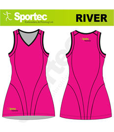 Sublimation Netball Dress (River)