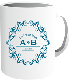 Ceramic Sublimation Mug (The Perfect Blend)