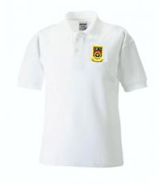 Dwr-Y-Felin Girls Fitted Polo Shirt