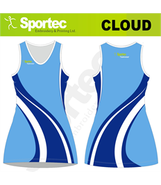 Sublimation Netball Dress (Cloud)