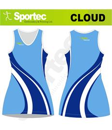 Sublimation Netball Dress (Cloud)