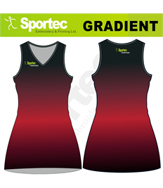 Sublimation Netball Dress (Gradient)