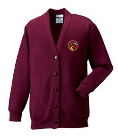 Blaengwrach School Cardigan (Age 3-4 to Age 11-12)
