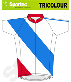 Sublimation Cycling Jersey (Tricolour)