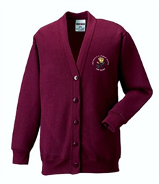 St Therese's R.C Primary School Cardigan (Adult Sizes)