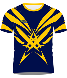 Sublimation Rugby Jersey (Burst)