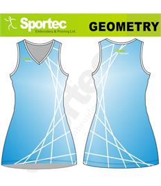 Sublimation Netball Dress (Geometry)